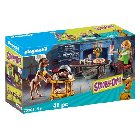 Playmobil Scooby Doo! - Dinner with Scooby and Shaggy 70363