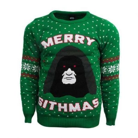 Star Wars Merry Sithmas Christmas Jumper / Ugly Sweater - UK S / US XS