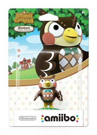 Amiibo Blathers Animal Crossing Character - Nintendo Switch