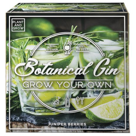 Plant and Grow - Botanical Gin Planting Starter Set