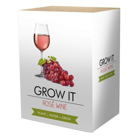 Grow It - Rose Wine Planting Starter Set