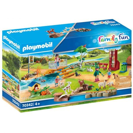 Playmobil 70342 Family Fun - Petting Zoo