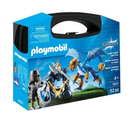 Playmobil 5657 Knights - Dragon Knights Carry Case box