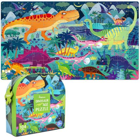 Mideer 104 Piece Gift Box Jigsaw Puzzle – Dinosaurs