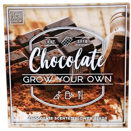 Plant and Grow - Chocolate Planting Starter Set