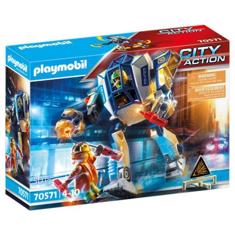 Playmobil Police Robot Special Operations - City Action 70571