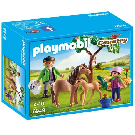 Playmobil 6949 Country - Vet and Pony with Foal