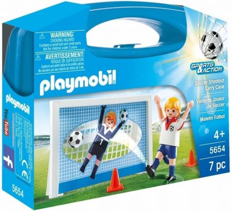 Playmobil 5654 Sports & Action - Soccer Shoutout Carry Case