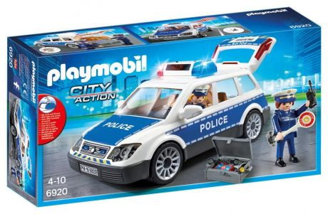 Playmobil 6920 City Action - Squad Car with Lights and Sound