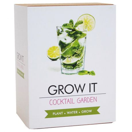 Grow It - Cocktail Garden Planting Starter Set