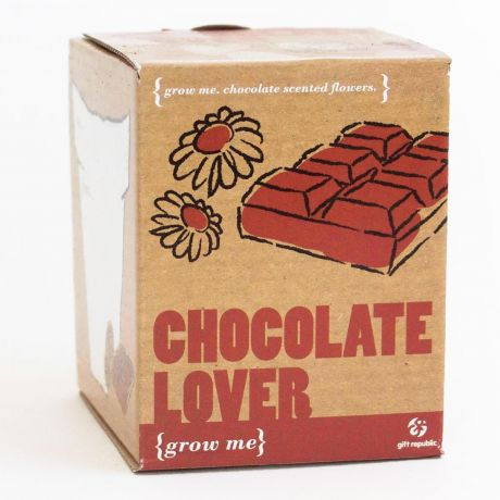 Grow Me - Chocolate Lovers Planting Starter Set