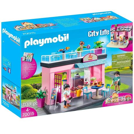 Playmobil 70015 City Life - My Café