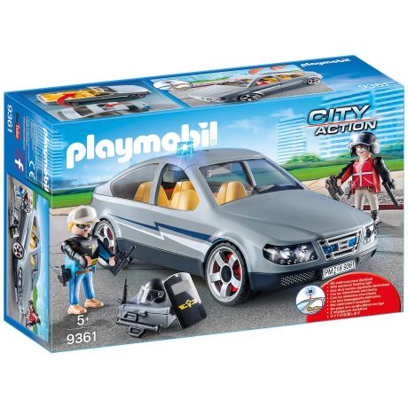 Playmobil Police Tactical Unit Undercover Car - City Action 9361
