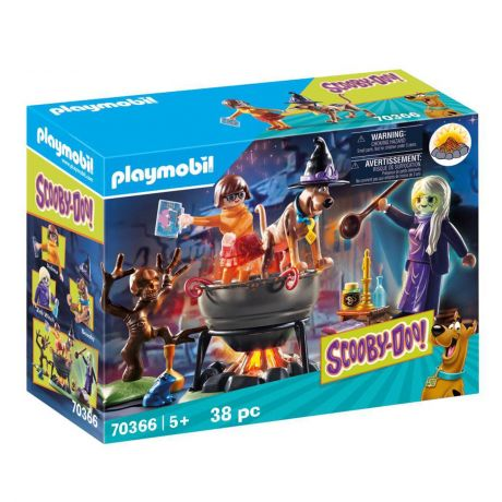 PlaymobilAdventure in the Witch's Cauldron - Scooby Doo! 70366