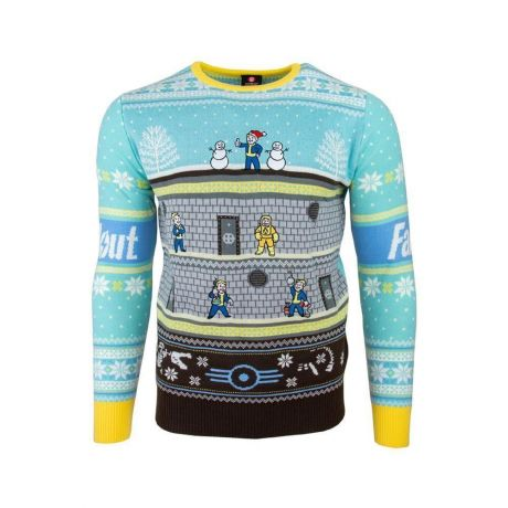 Fallout Vault Christmas Jumper / Ugly Sweater UK XL / US L