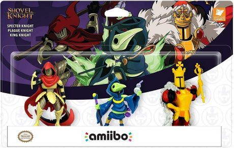 Shovel Knight: Treasure Trove Amiibo 3 Pack (Nintendo Switch)