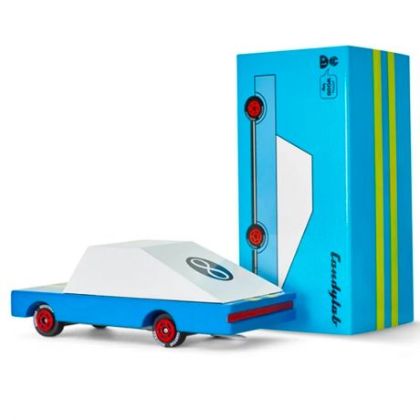 Candylab Candy Car Blue Racer #8 bopster