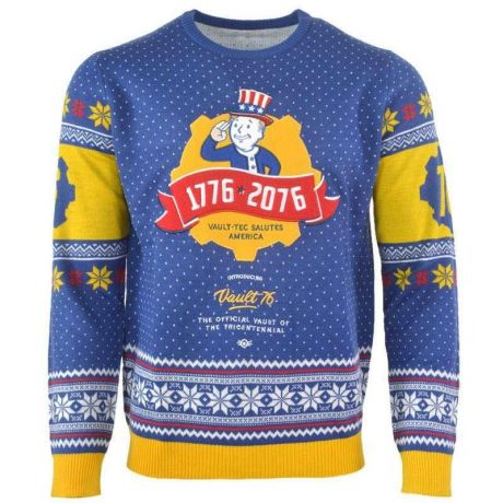 Fallout 76 Christmas Jumper/ Ugly Sweater - UK L / US M