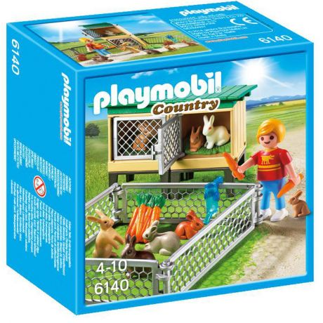 Playmobil 6140 Country - Rabbit Pen with Hutch