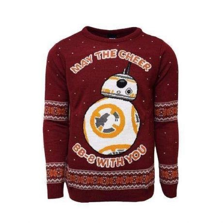 Star Wars BB-8 Christmas Jumper / Ugly Sweater - UK 2XL / US XL