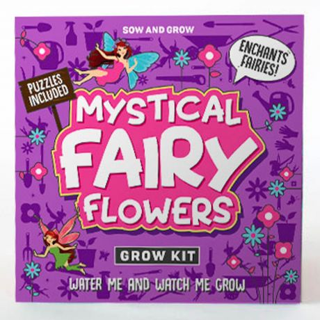 Sow and Grow - Mystical Fairy Flowers Planting Starter Set