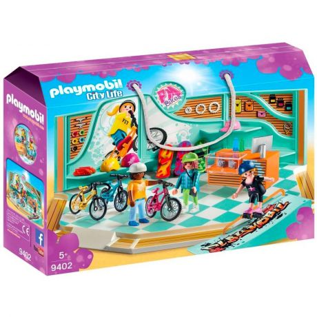 Playmobil 9402 City Life - Bike and Skate Shop