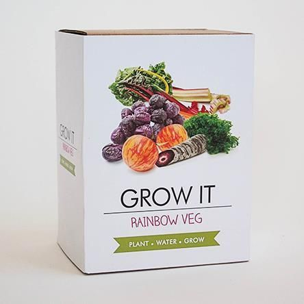 Grow It - Rainbow Veg Planting Starter Set