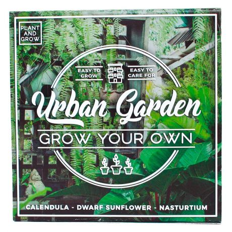 Plant and Grow - Urban Garden Planting Starter Set
