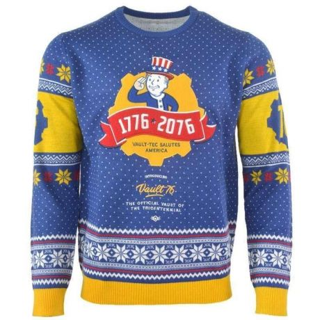 Fallout 76 Christmas Jumper / Ugly Sweater UK XS / US 2XS