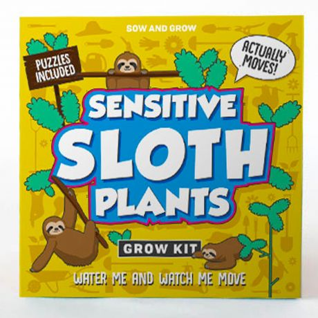 Sow and Grow - Sensitive Sloth Plants Planting Starter Set
