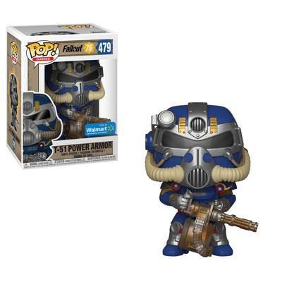 Funko Pop! Games: Fallout 76 - T-51 Power Armour Blue 479 (39035)