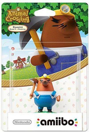 Amiibo - Resetti Animal Crossing Character - Nintendo Switch