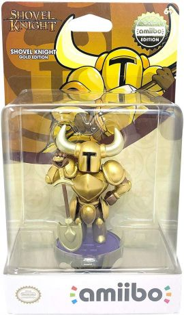 Shovel Knight Gold Amiibo - Nintendo Switch