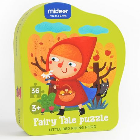 Mideer 36 Piece Fairy Tale Jigsaw Puzzle – Little Red Riding Hood
