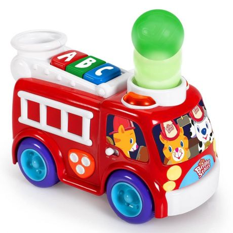 Bright Starts - Roll and Pop Fire Truck