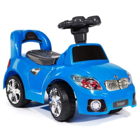 bopster Ride On Sports Car Blue