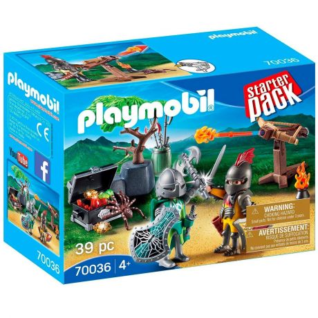 Playmobil 70036 Starter Pack - Knight's Treasure Battle