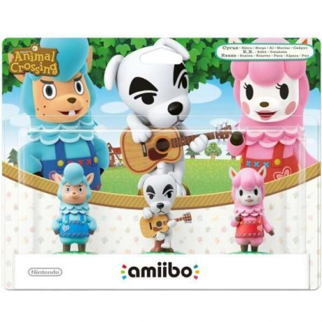 Amiibo - Animal Crossing 3 Pack: Reese, K.K Slider, Cyrus - Nintendo Switch
