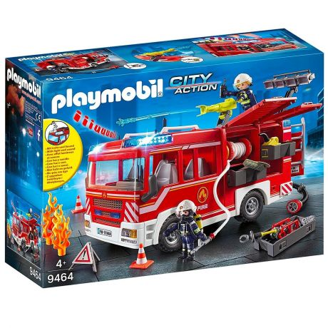 Playmobil 9464 City Action - Fire Engine with Fire Hose