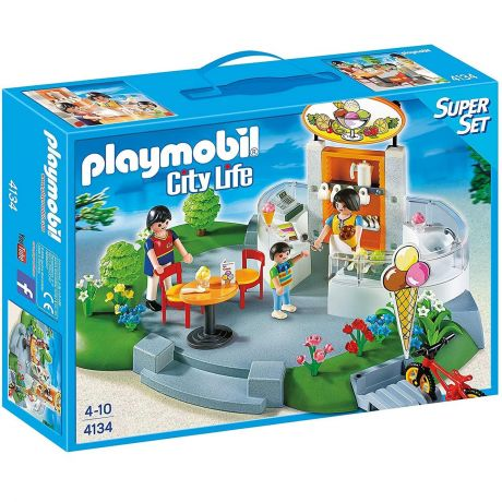 Playmobil 4134 Ice Cream Parlour SuperSet