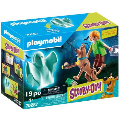 Playmobil Scooby Doo! - Scooby and Shaggy with Ghost 70287