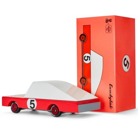 Candylab Candy Car Red Racer #5 bopster