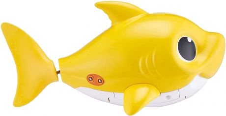 Zuru Robo Alive - Baby Shark (Yellow) Sing & Swim Bath Toy