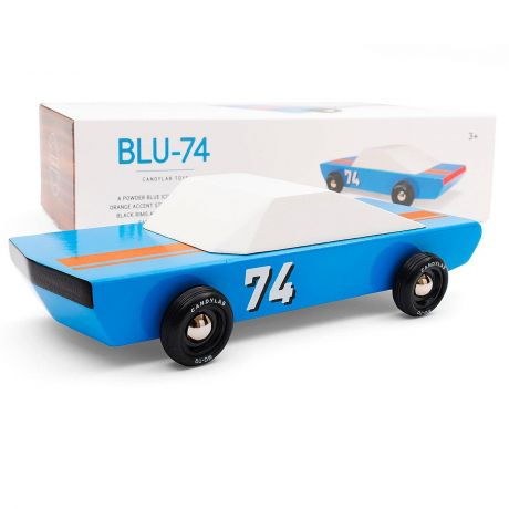 Candylab – Racing Model Blu74 Blue Sports Vehicle - with box