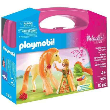 Playmobil 5656 Princess - Fantasy Horse Carry Case Playset