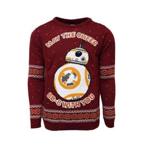 Star Wars BB-8 Christmas Jumper / Ugly Sweater - UK S / US XS