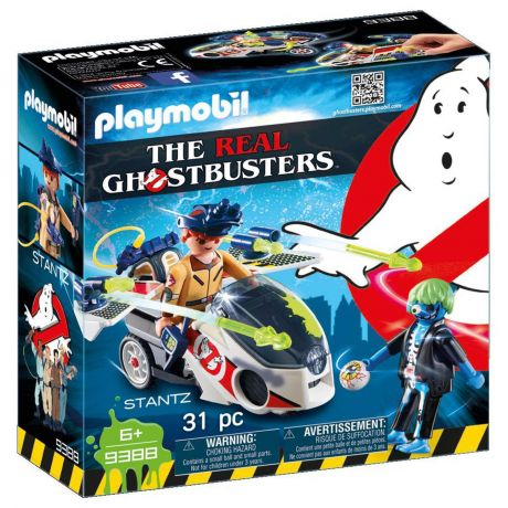 Playmobil 9388 - Ghostbusters Stantz with Skybike