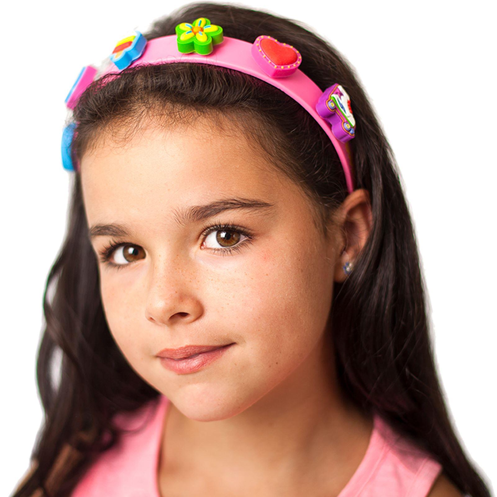 Pink boppiband with boppi Charms and Girl Model