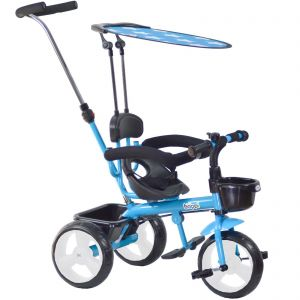Blue boppi 4-in-1 Baby Tricycle Stroller