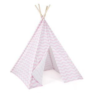 boppi Kids Teepee Play Tent Pink Exterior